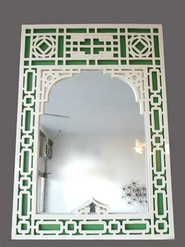 Excellent Green & White Chinoiserie Mirror 375 x 500 · 21 kB · jpeg
