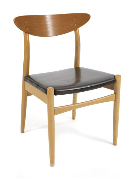 Dining Chairs Modern Leather Dining Chair Scandinavian Style Modern