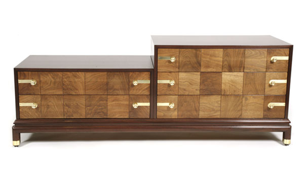 Gorgeous renzo rutili johnson dresser red modern furniture for Modern furniture companies