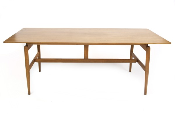 Finn Juhl Library Table Red Modern Furniture