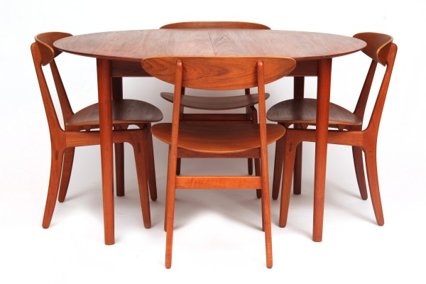 Teak Tables And Chairs staved teak table & chairs | red modern furniture