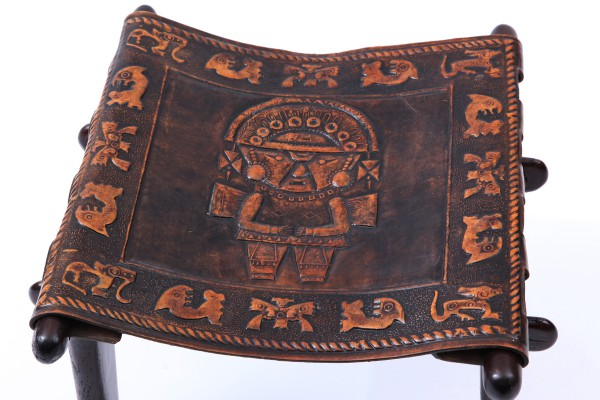 Excellent Hand Tooled Leather Ottoman 600 x 400 · 67 kB · jpeg