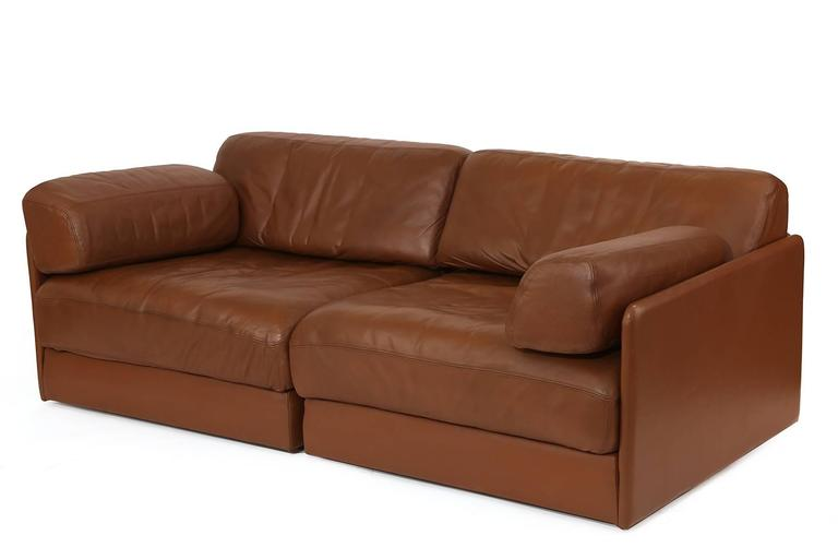 De Sede Convertible Leather Sofa Or Chairs