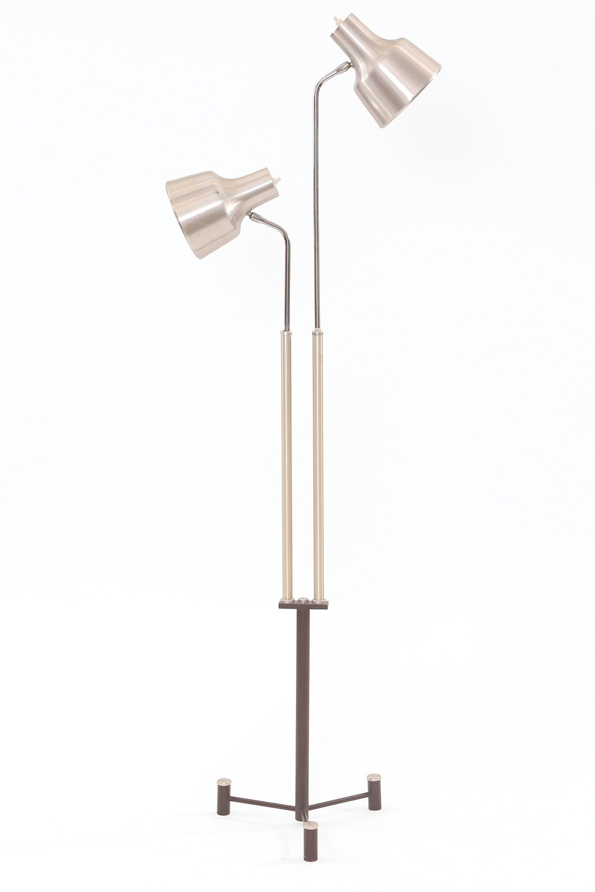 Steel Adjule Danish Floor Lamp