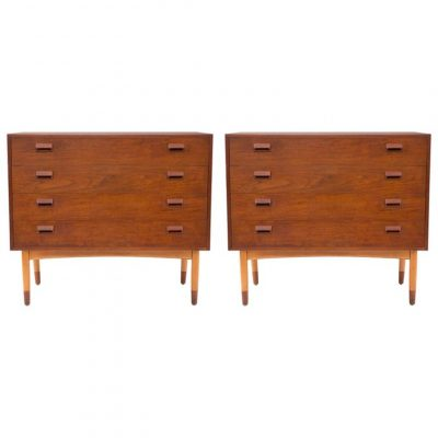 Pair-of-Borge-Mogensen-Teak-and-Beech-Chests-1