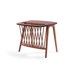 Walnut-Side-Table-with-Magazine-Rack-by-Arthur-Umanoff-